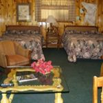 Poncho Villa Authentic Lodge Style Room at Mountain Shadows Lodge Red River, New Mexico